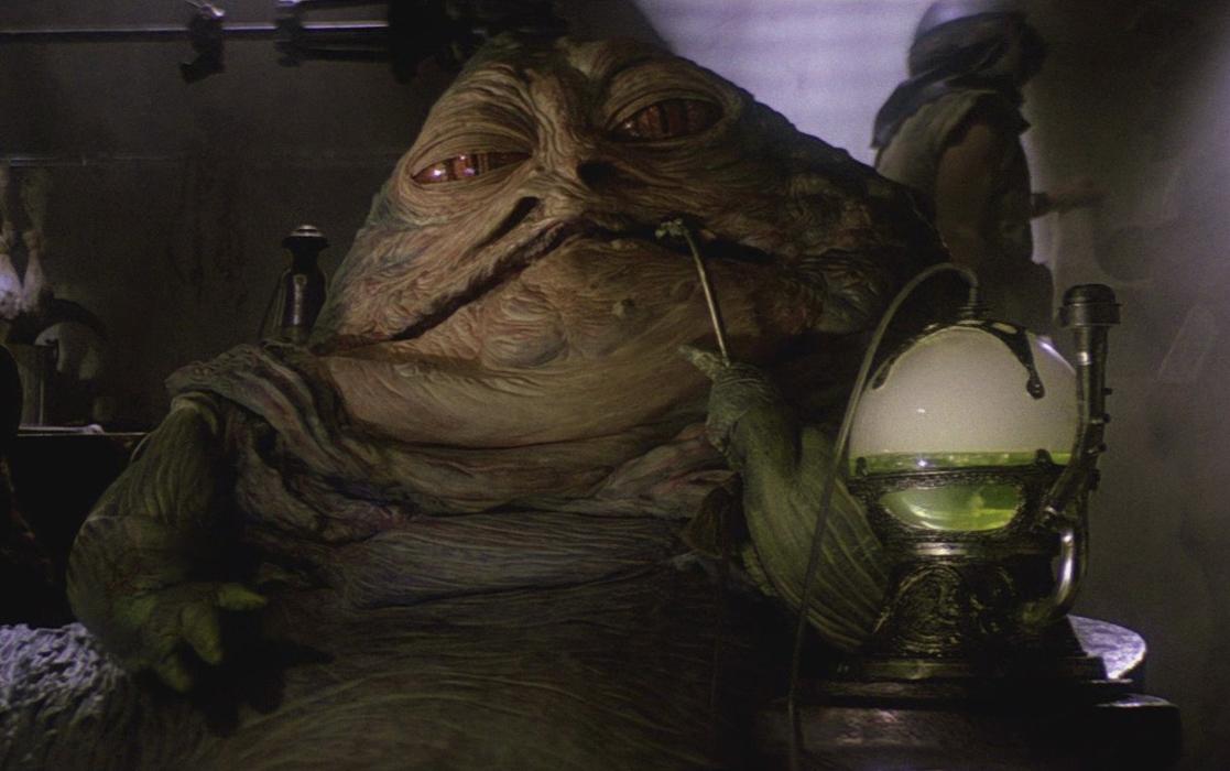 John Rozum.com: 30 Years of RETURN OF THE JEDI - Part 3 Jabba The Hutt