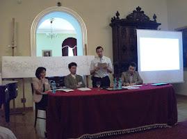 Aspecte din timpul desfăşurării Congresului Naţional de Genealogie şi Heraldică, 10-12 mai 2012...
