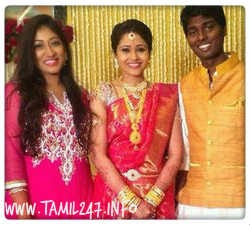 Atlee and Priya wedding pics