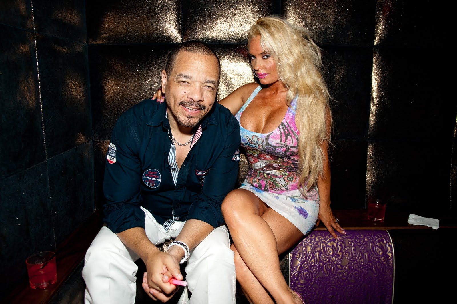 Vavoom!! Ice T and Coco in Vegas!