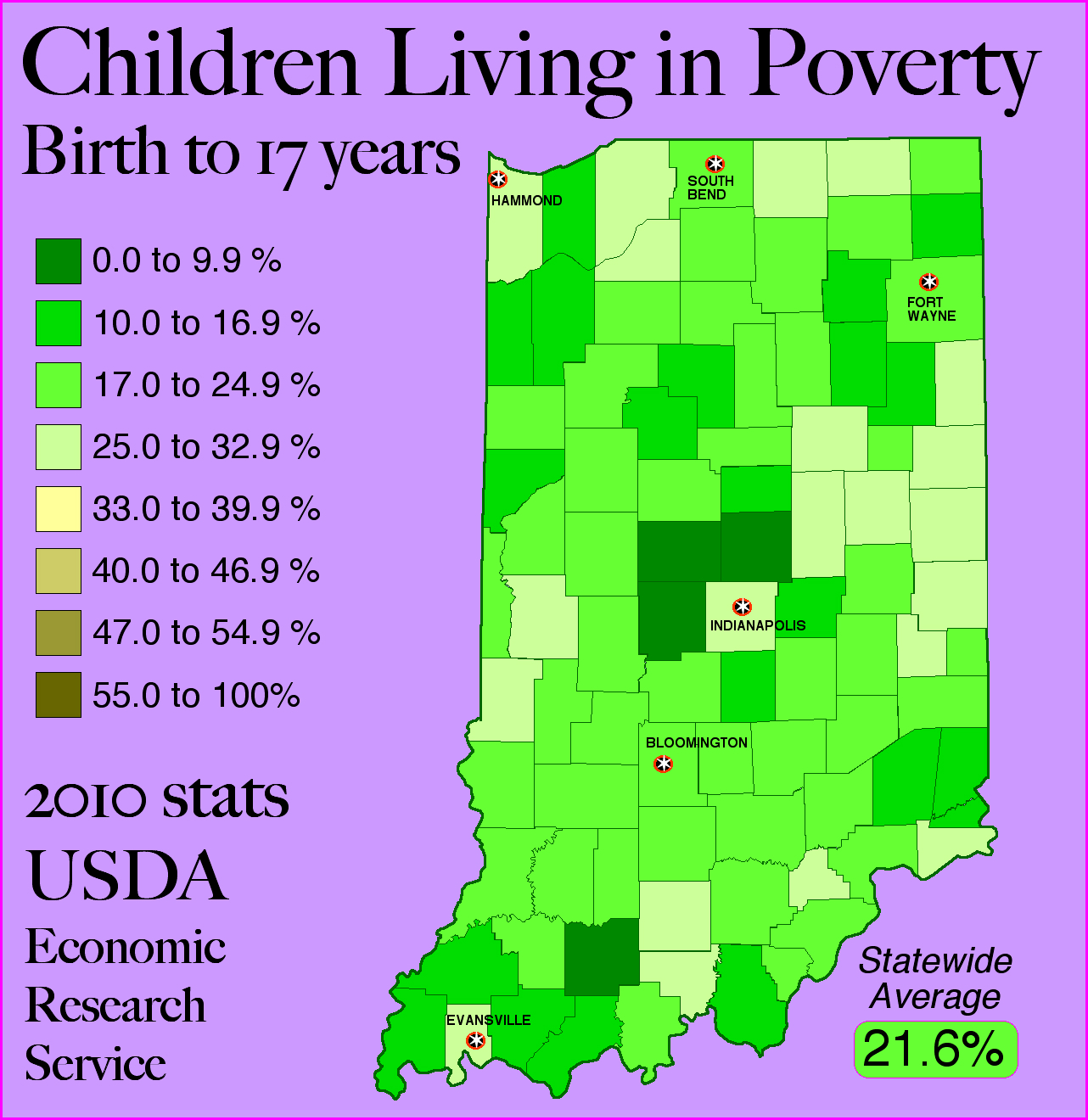 the issue of childhood poverty in the united states Income inequality in the united states is a major election campaign issue it is an  issue of interest to many people across the country.