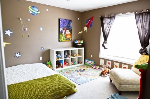 Quarto montessoriano para crian as ap em decora o for Decoracion habitacion infantil montessori