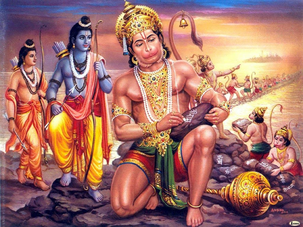 What should you offer God Hanuman to seek his blessings?