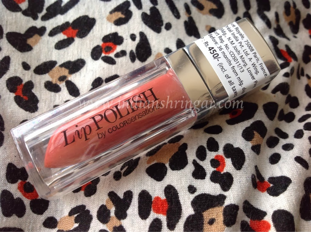 Maybelline Lip Polish Glam7