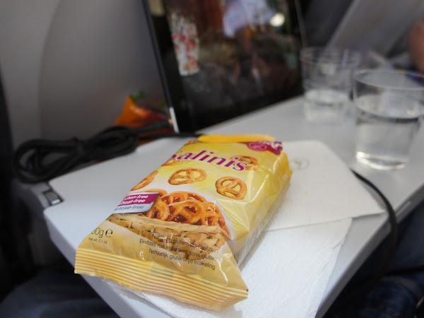 glutenfreies Flugzeugessen: Economy Class Übersicht