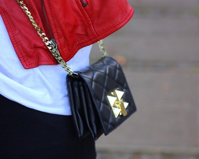 black bag zara