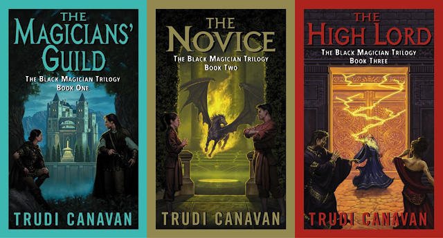 The Black Magician Trilogy by Trudi Canavan