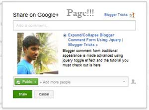 share posts to google plus