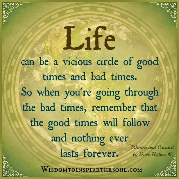 wisdom to inspire the soul life can be a vicious circle
