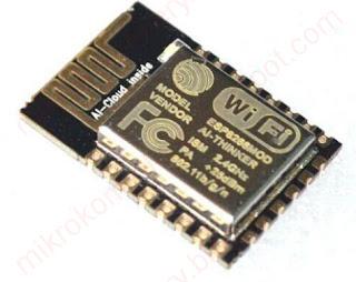ESP8266 - Moduł z polami lutowniczymi