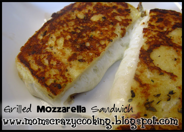 MOMS CRAZY COOKING: Grilled Mozzarella Sandwich and CRAZY COOKING ...