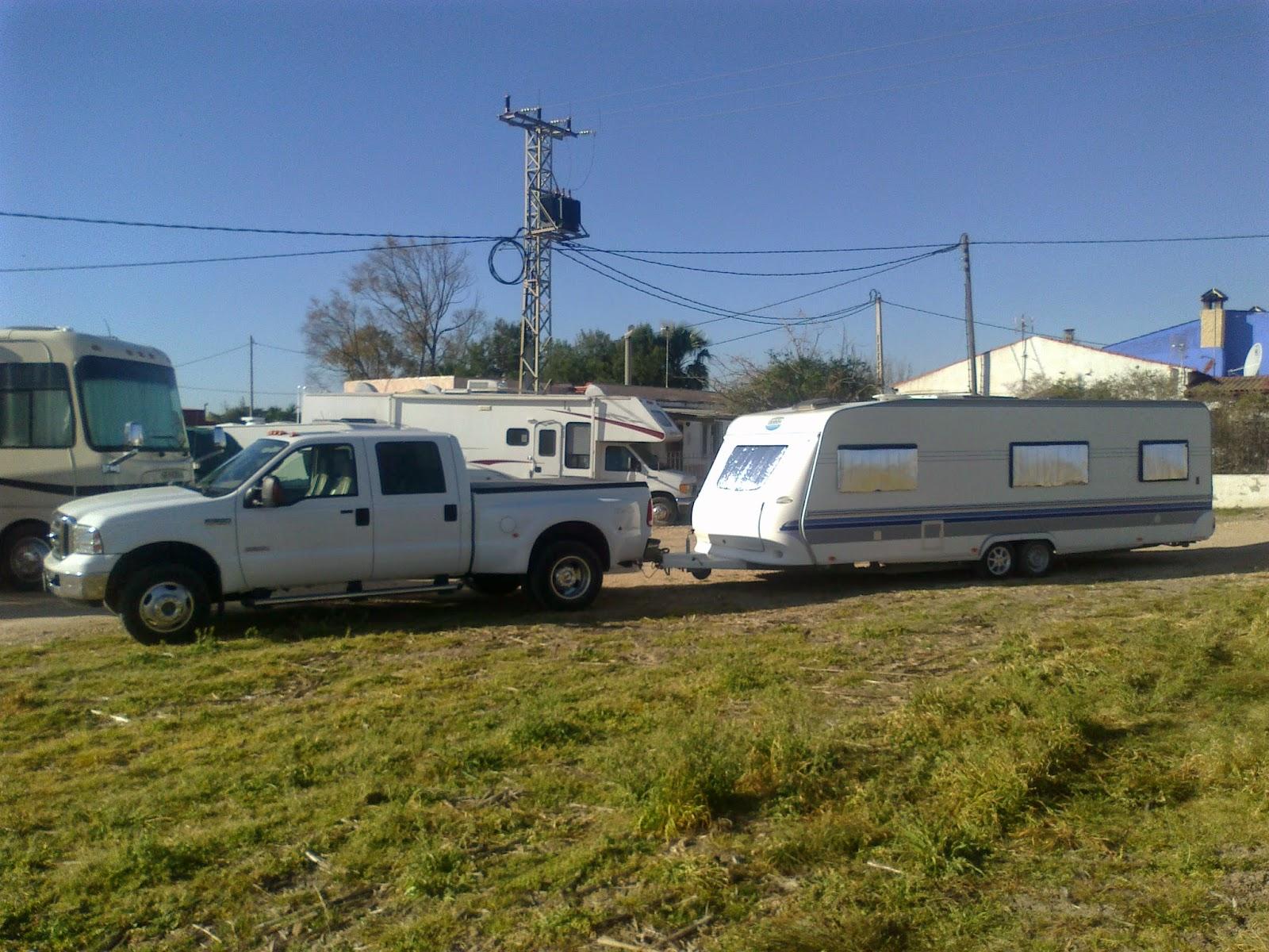 Caravan storage, Alicante