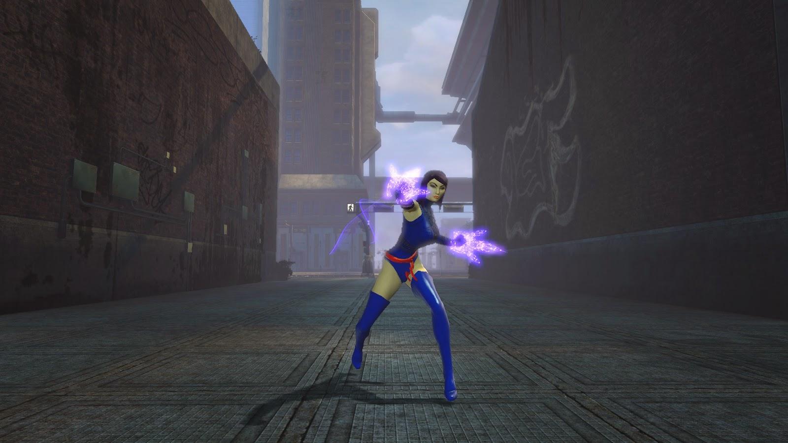 Marvel Universe Online Psylocke