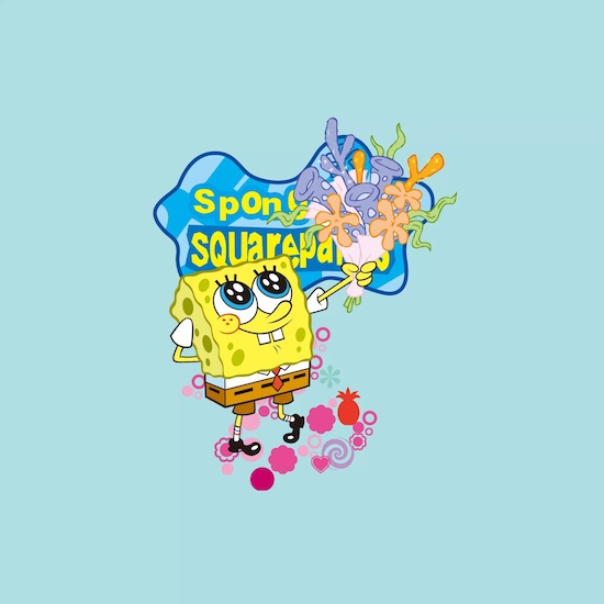 Best-SpongeBob-New-iPad-HD-wallpapers-flowers-popular