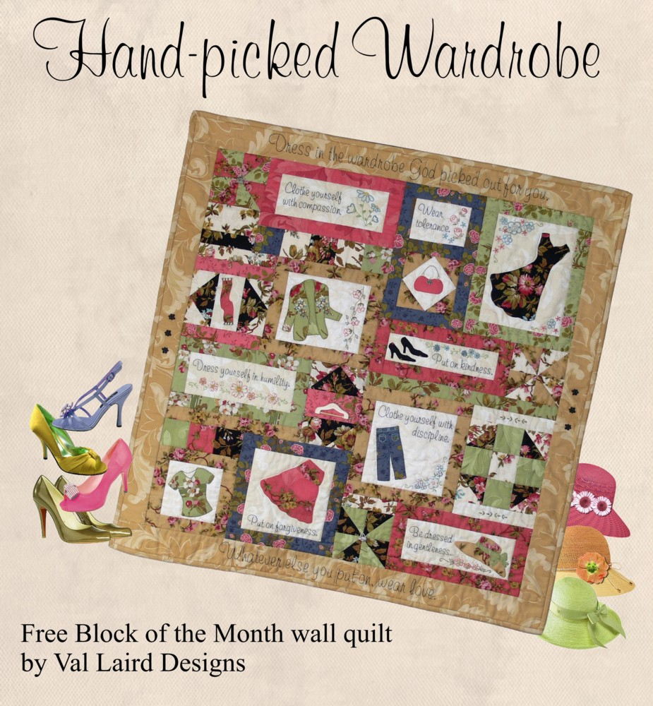 Free Block-of-the-Month Quilt