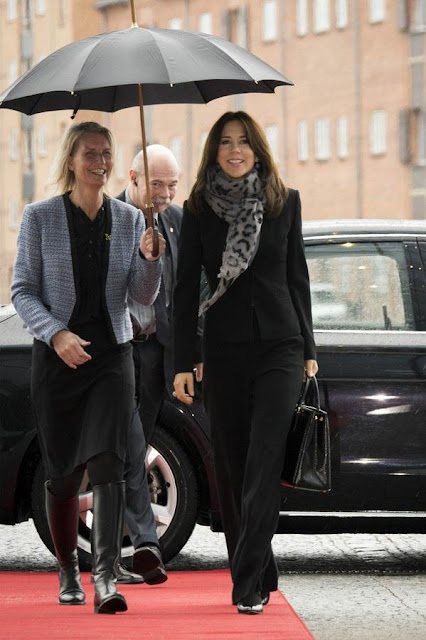 Crown Princess Mary of Denmark attended the language conference,