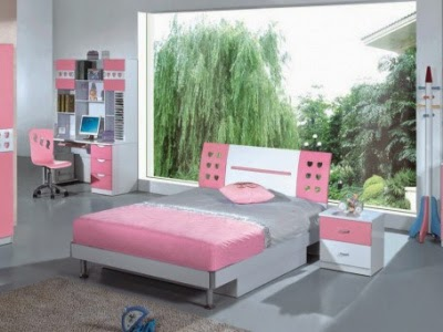 Cute Pink Bedroom Design