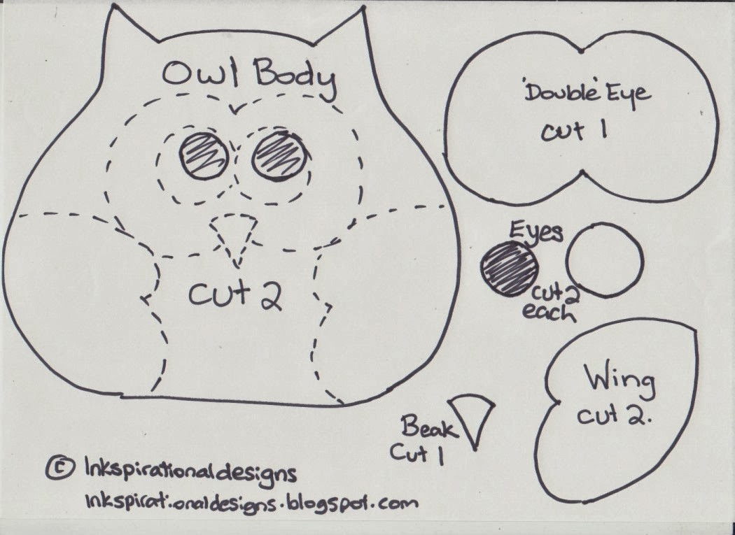 inkspirational designs diy cute and easy owl heat pack