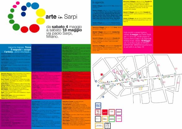 Arte in Sarpi dal 4 al 18 maggio 2013 arte contemporanea a Milano