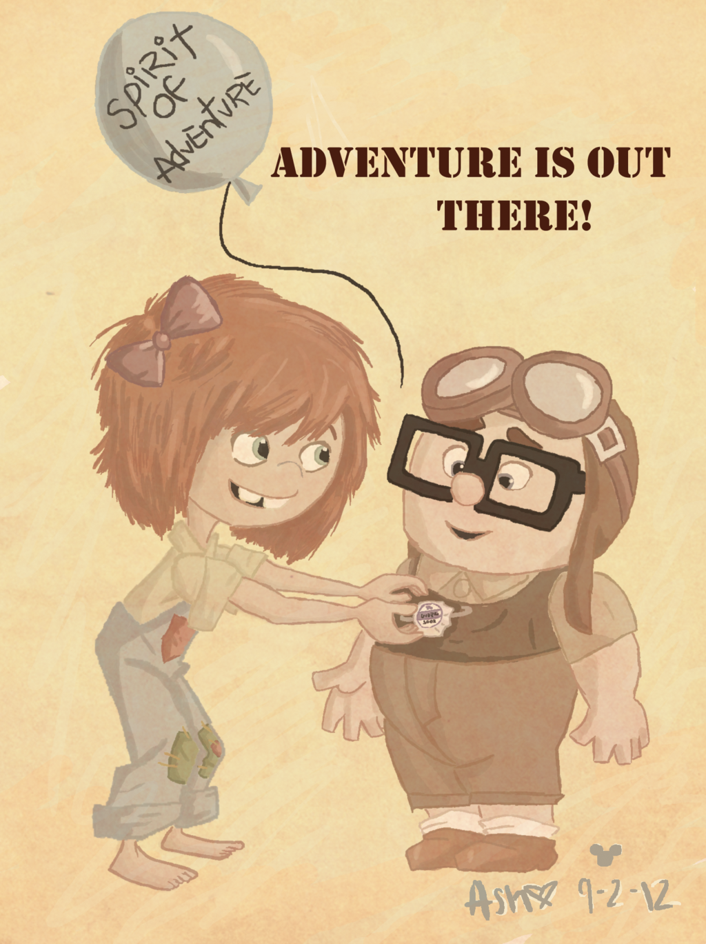Ellie and carl adventure