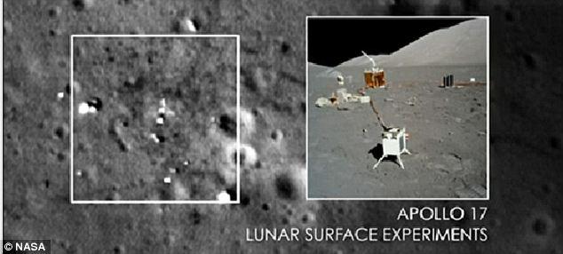 NASA tunjuk gambar-gambar bukti pendaratan di bulan untuk diamkan Teori Konspirasi