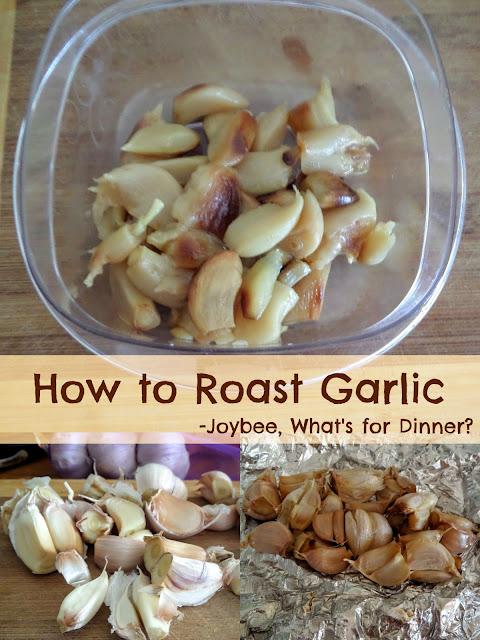 How to Roast Garlic:  A simple tutorial on how to roast garlic.