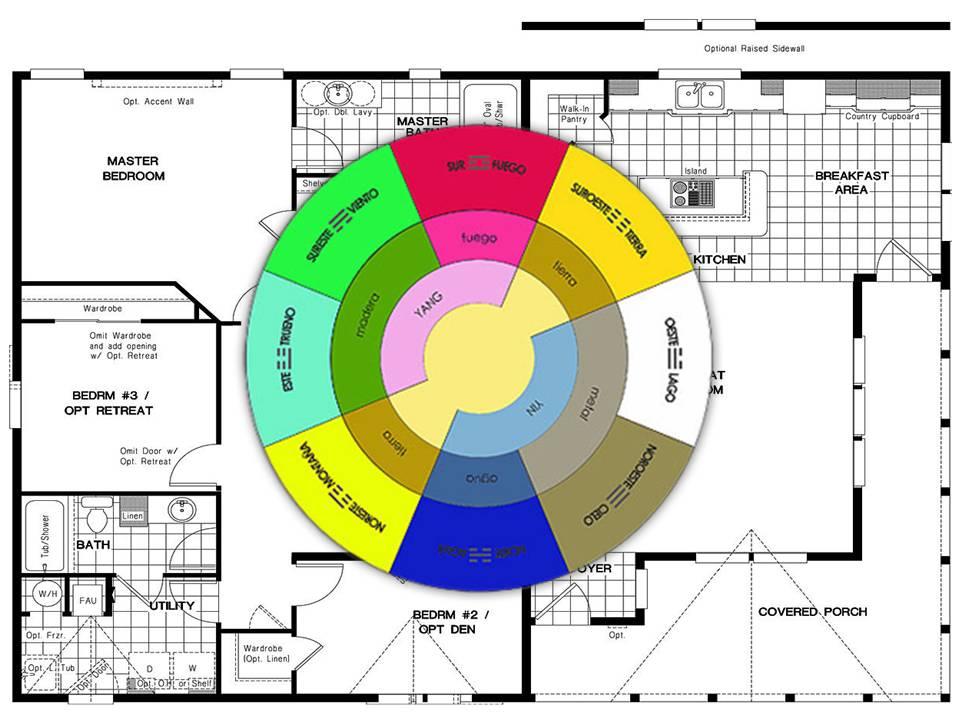 Equilibrio feng shui decoraci n - El color en la arquitectura ...