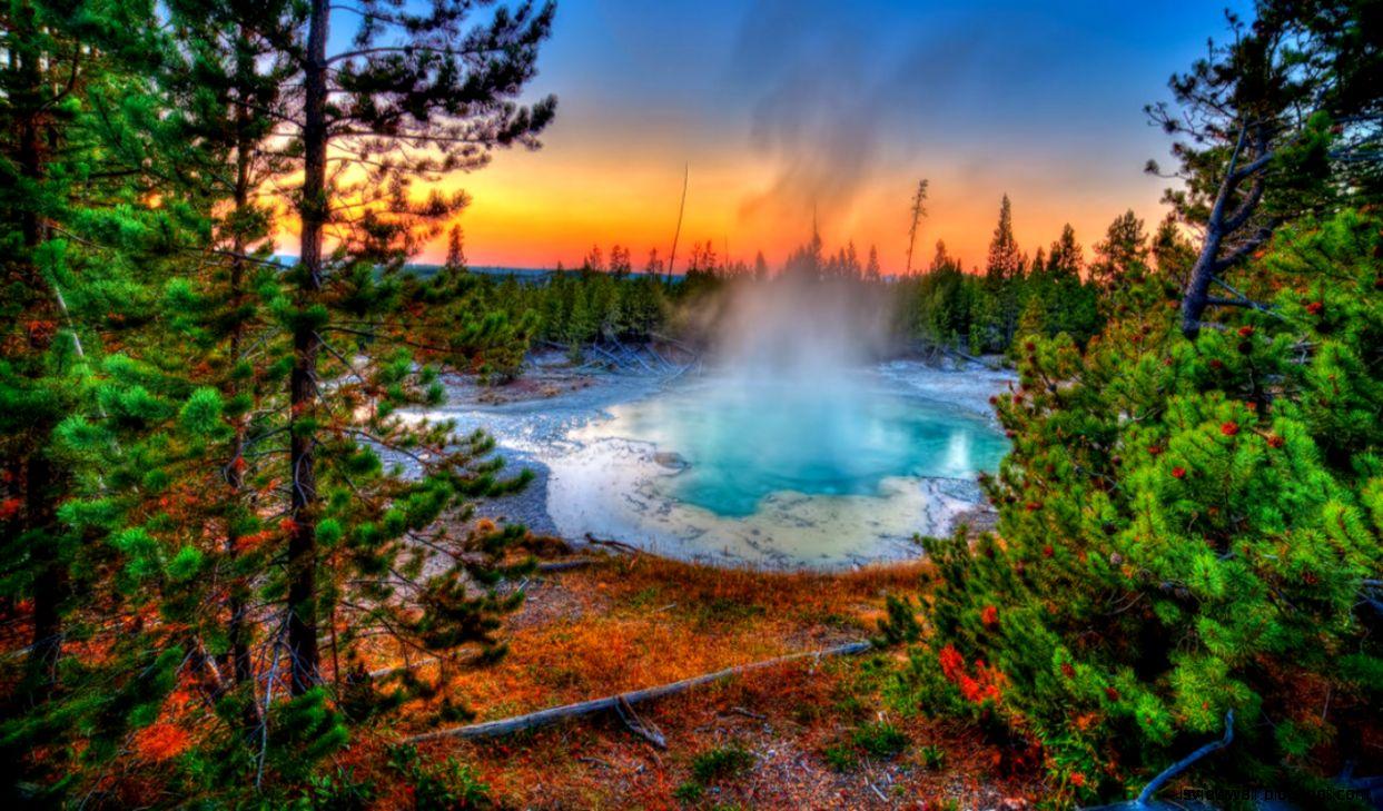 desktop wallpaper yellowstone park: Yellowstone National Park Hd Wallpaper