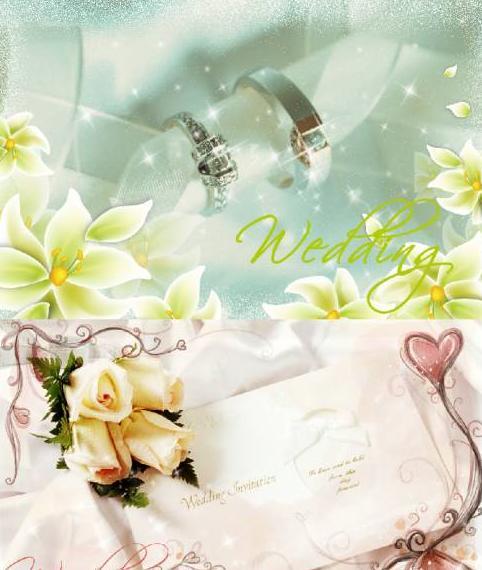 template wedding
