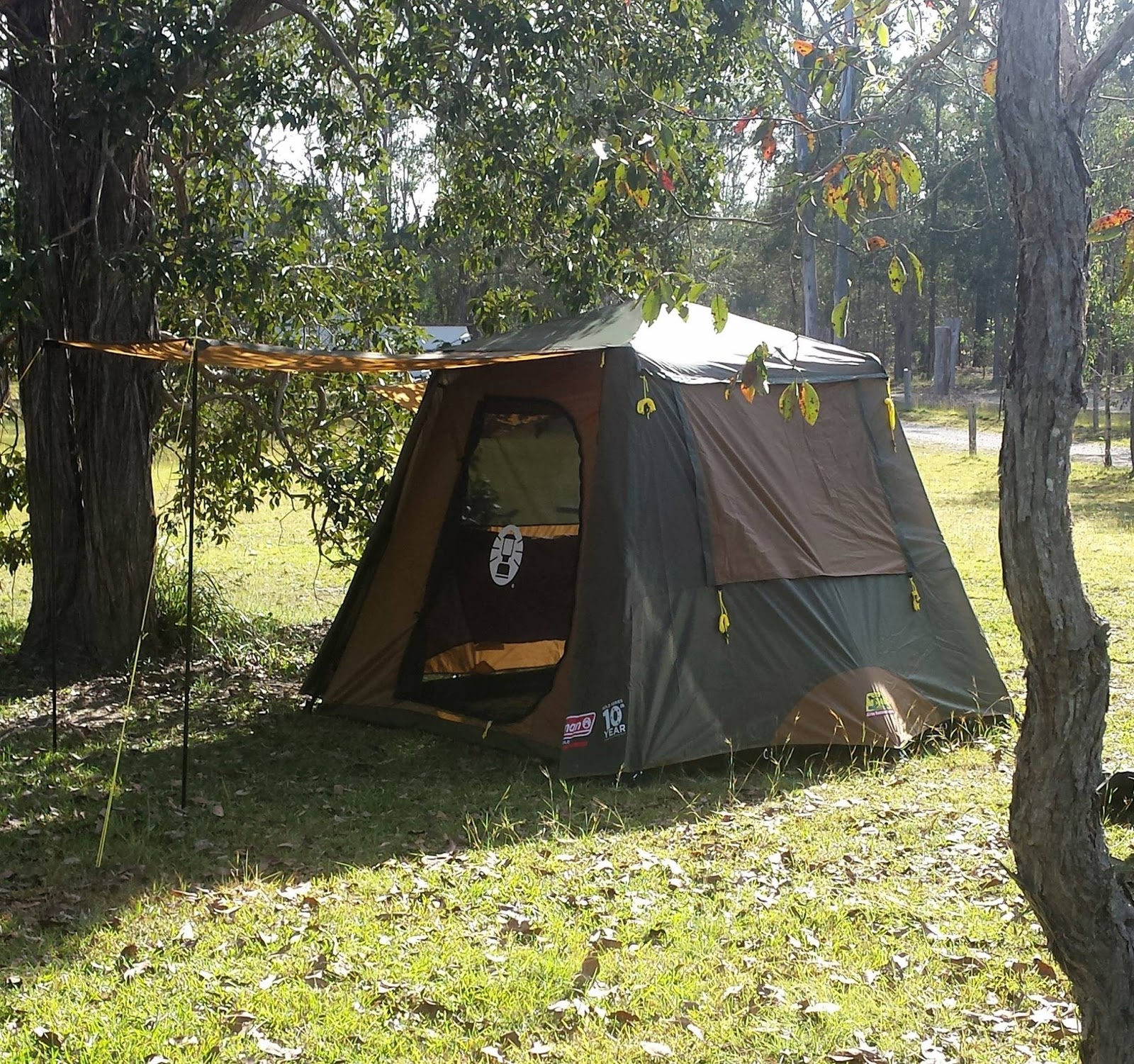 & Tentworld: Coleman Gold Series Instant Up Tent Maiden Voyage Review
