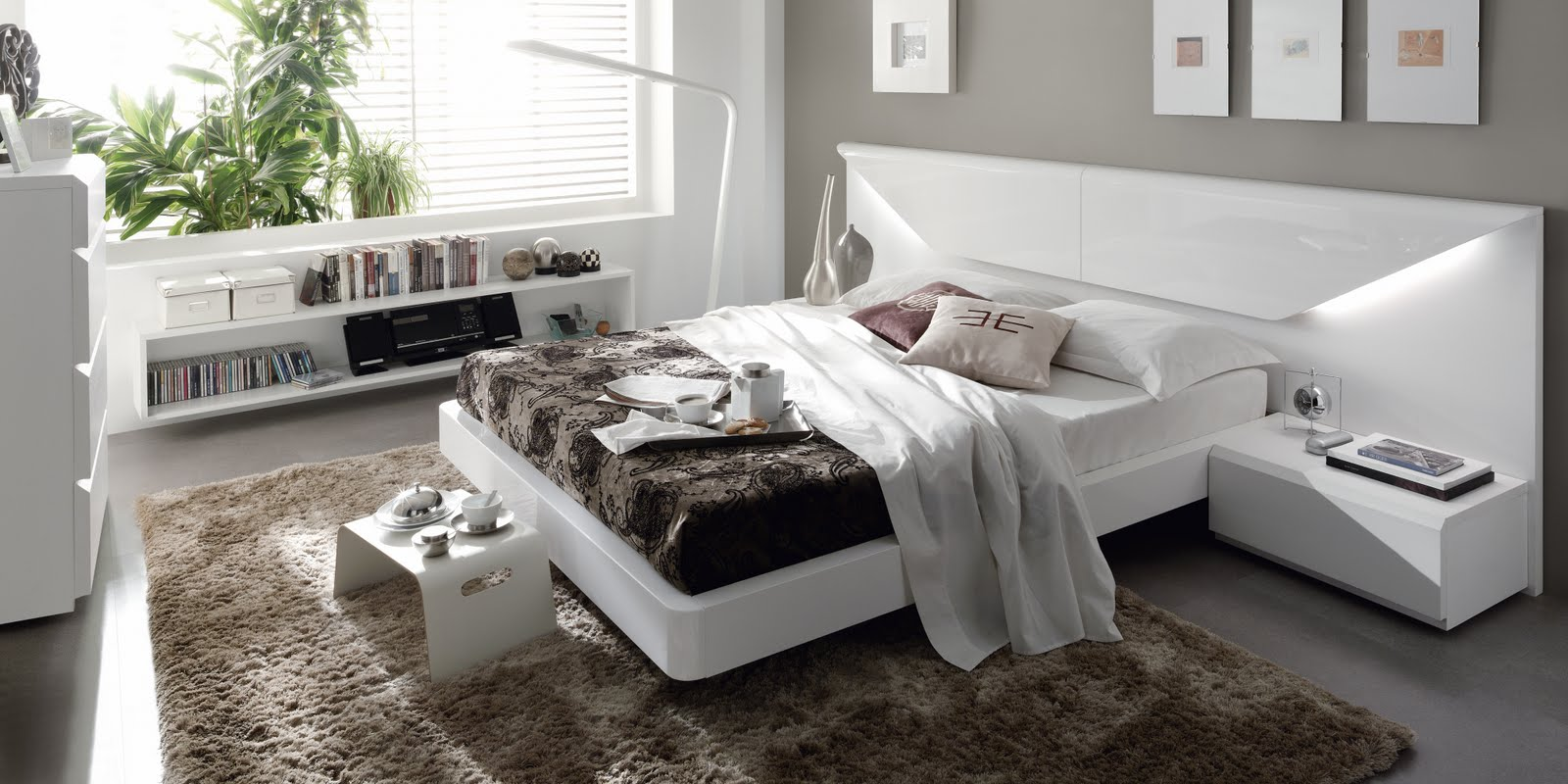 Dormitorios de matrimonio living - Dormitorios blancos ...