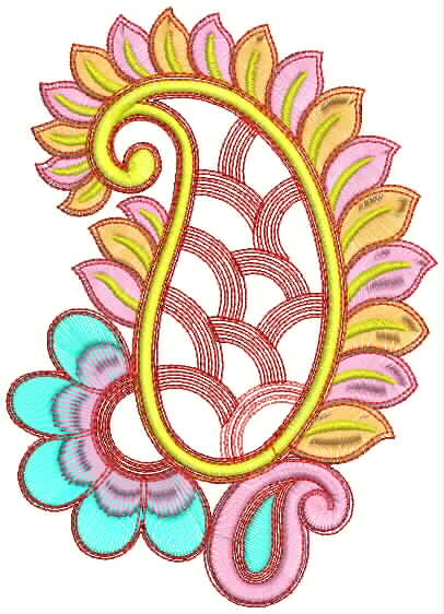 Heavy Beautifully Embroidery Patches Designs ~ Embdesigntube