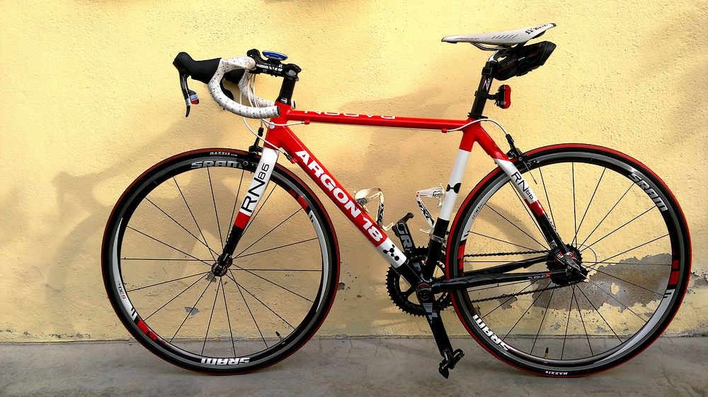 Argon 18 - Radon - half carbon road bike