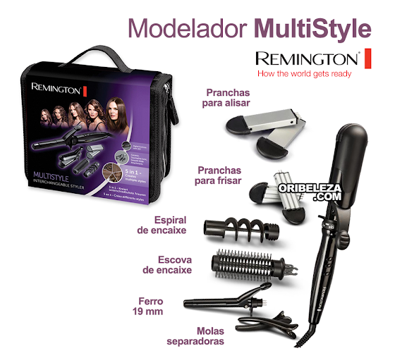 Modelador MultiStyle Remington