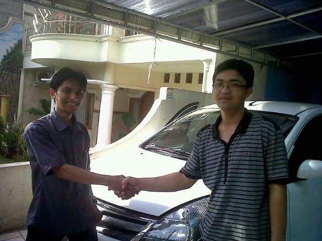 Terimakasih atas kepercayaan Pak Ahmad Yani yang telah membeli Grand Livina Matic melalui media www.touchnissan.com.  Semoga Berkah ya Pak...