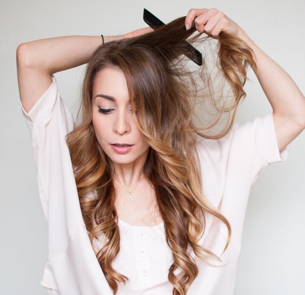 Easy Half Up Half Down Hair Wrap Tutorial La Petite Noob A