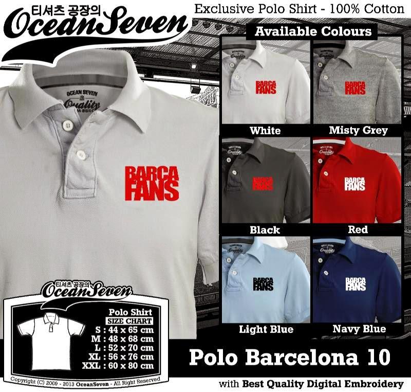 Kaos Polo Barcelona 10