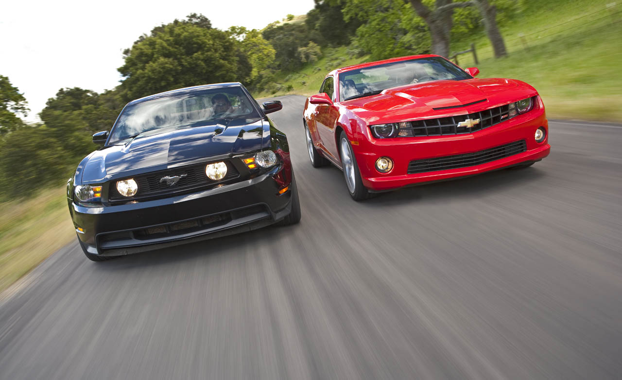 Ford Mustang Vs Chevrolet Camaro Videos