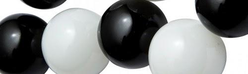 Чёрные и белые шары