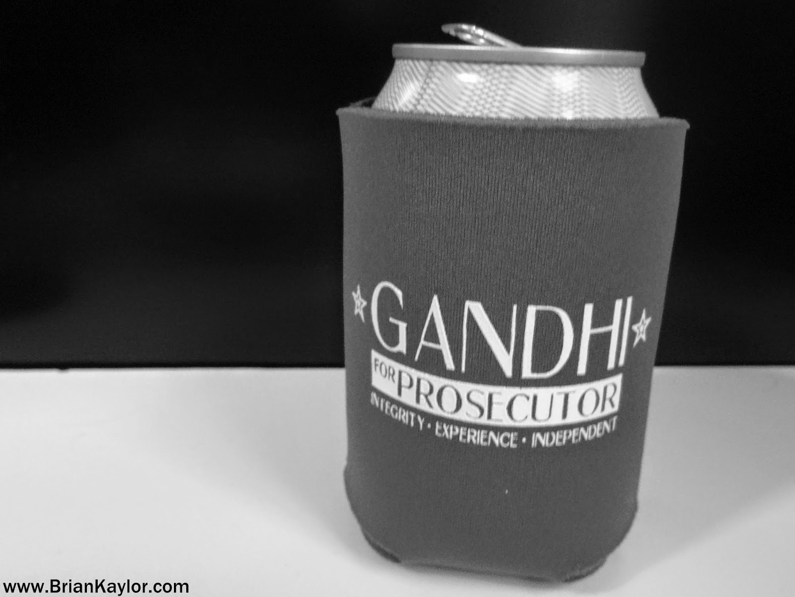 Gandhi for Prosecutor?