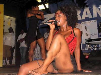 Black sexy woman
