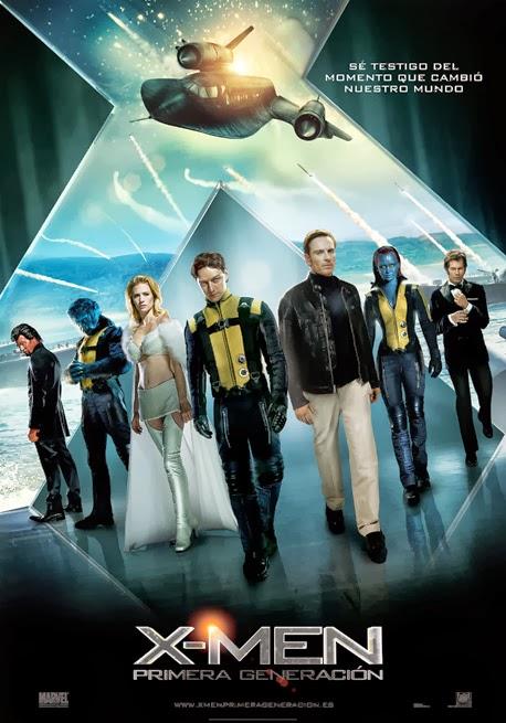 X-Men: Primera Generación [Blu-ray]