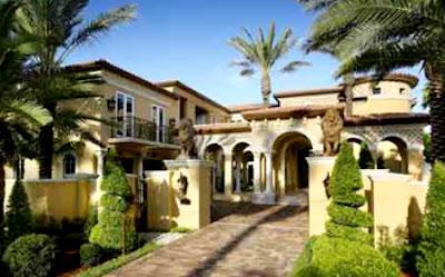 Decoraciones y mas elegantes fachadas de casas de lujo en - Casas elegantes por dentro ...