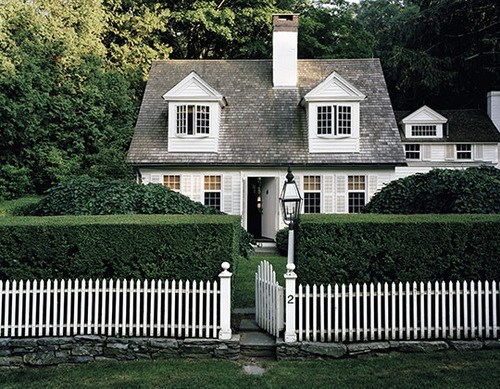 White Picket Fences Design Chic Design Chic
