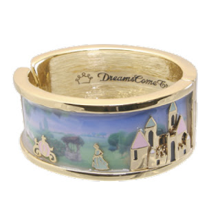 Disney Couture Jewelry ICON Cinderella Bangle Bracelet