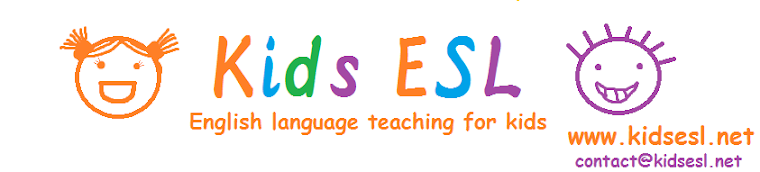 Kids ESL: All about teaching English to kids!