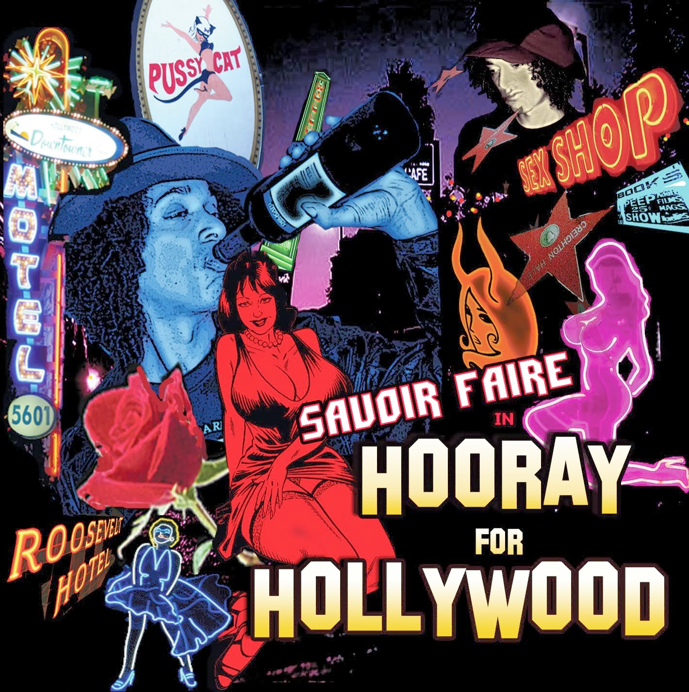 "PURCHASE ""HOORAY FOR HOLLYWOOD"" LP FROM AMOEBA RECORDS IN HOLLYWOOD!!!"