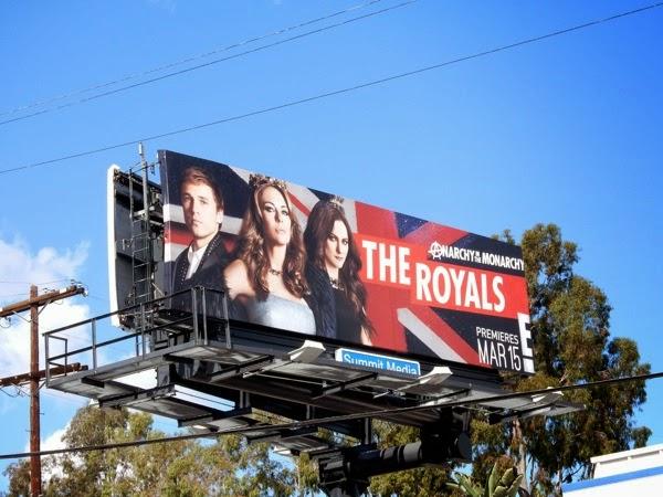 The Royals season 1 billboard