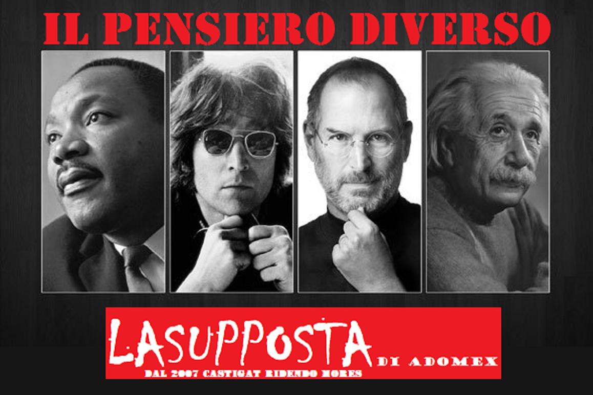 IL PENSIERO DIVERSO - LASUPPOSTA di adomex dal 2007, by QT Sicilia Magazine