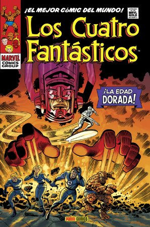 Los Cuatro Fantásticos - La Edad Dorada - Stan Lee - Jack Kirby